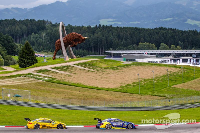 Gary Paffett, HWA DTM Mercedes AMG C-Coupé, Timo Glock, BMW MTEK Takımı BMW M4 DTM