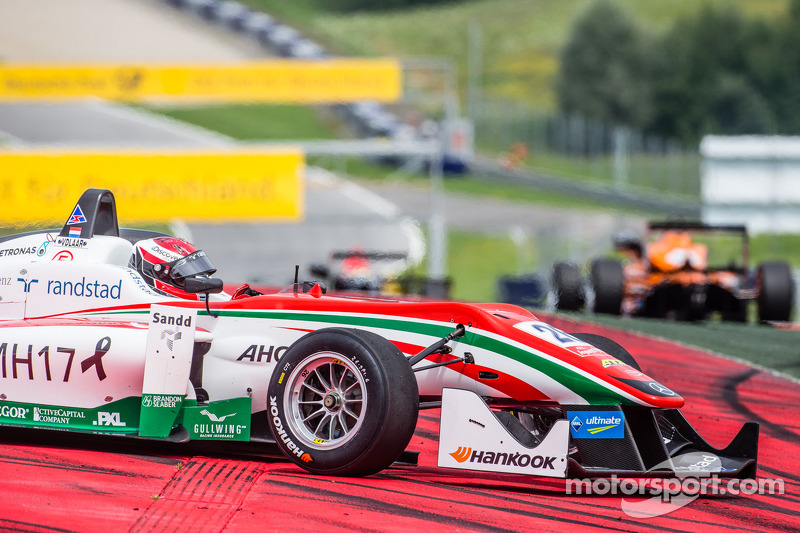 Dennis van De Laar, Prema Powerteam Dallara F312 Mercedes retires