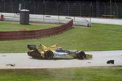 Tony Kanaan, Chip Ganassi Racing Chevrolet, testacoda
