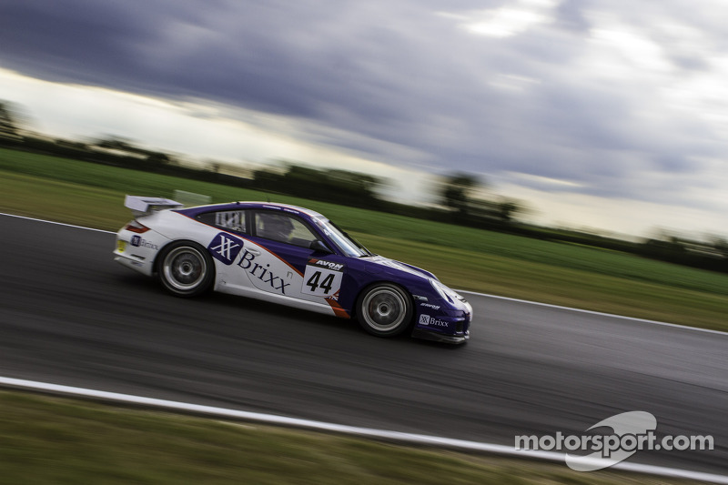 #44 Team Parker Racing Porsche 997 GT4: Barrie Baxter, Dan Cammish