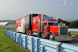 Hauler of Kevin Harvick, Stewart-Haas Racing Chevrolet