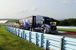 Hauler of Ryan Truex, BK Racing Toyota