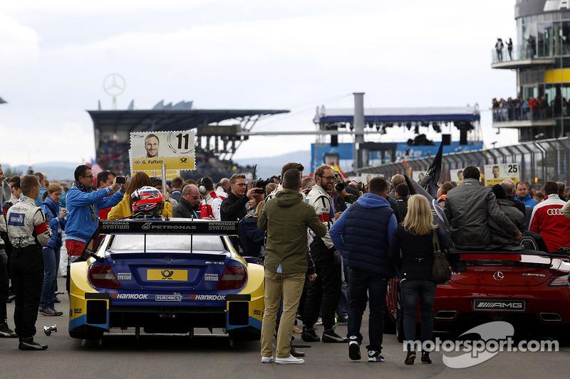 Griglia di partenza, Gary Paffett, Mercedes AMG DTM-Team HWA DTM Mercedes AMG C-Coupe