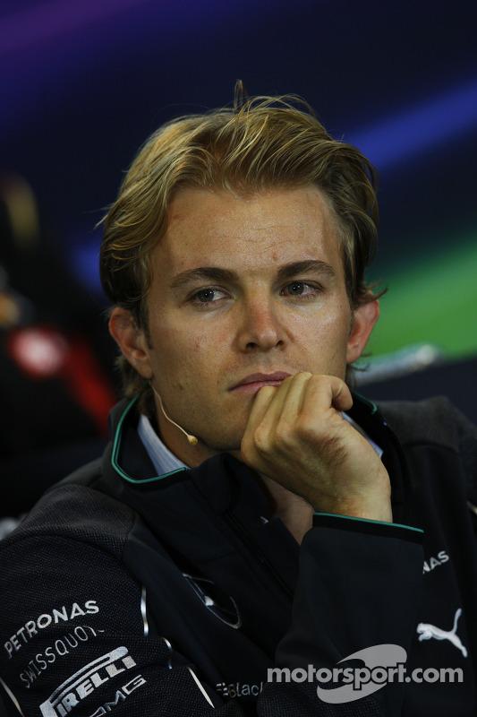 FIA-Pressekonferenz: Nico Rosberg, Mercedes AMG F1