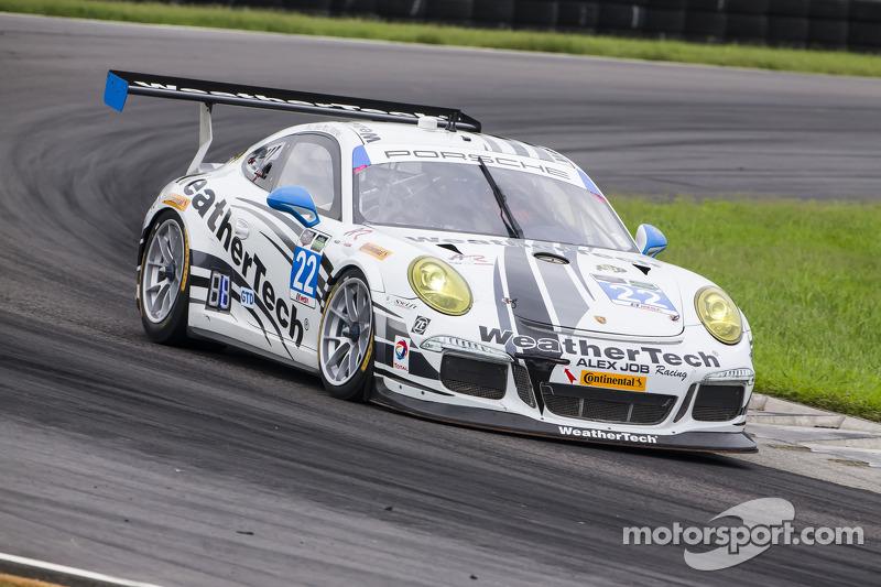 #22 Alex Job Racing 保时捷 911 GT America: 库珀·麦克尼尔, 莱·基恩