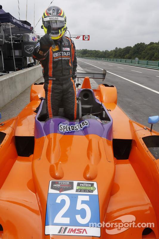 Pole position Sean Rayhall
