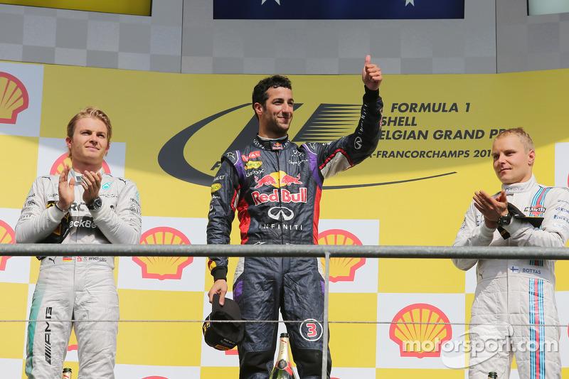 En Spa volvería al podio, su cuarto en F1