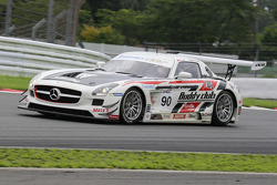 #90 AAI-RSTRDA Mercedes SLS AMG GT3: Lam Yu, Takeshi Tsuchiya, Takamitsu Matsui