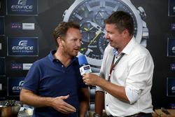Casio Edifice Lansmanı, Red Bull Enerji İstasyonu'nda, Christian Horner, Red Bull Racing Takım Patronu