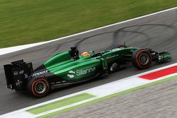 Roberto Merhi, Caterham CT05, Testfahrer
