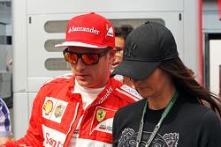 Кімі Райкконен, Ferrari зі своєю подругою Мінтту Віртанен