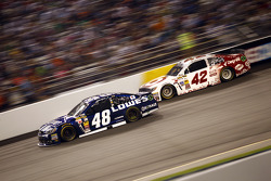 Jimmie Johnson and Kyle Larson