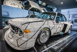 1976 BMW Art Car by Frank Stella that raced at Le Mans