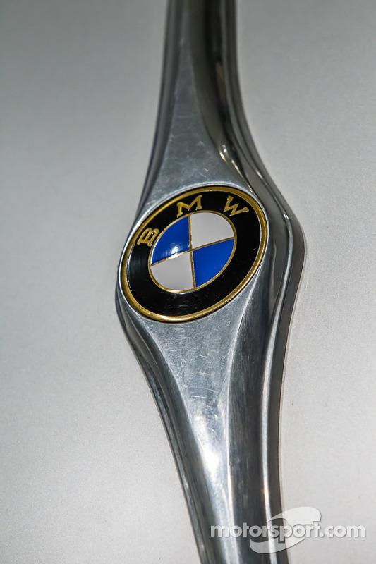 Detalhe do 1939 BMW 328 Kamm Rennlimousine