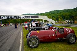 Sunday in the Park Concours con uan Alfa Romeo Tipo  B P3 del 1931