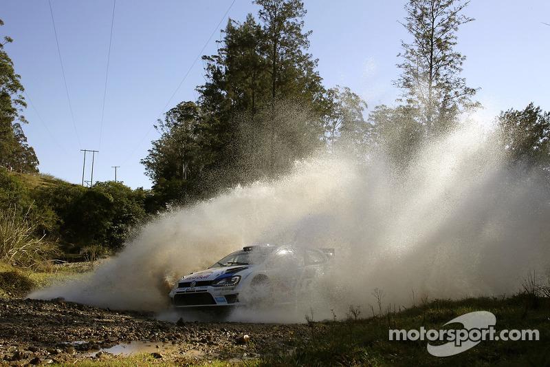 Sébastien Ogier y Julien Ingrassia, Volkswagen Polo WRC, Volkswagen Motorsport