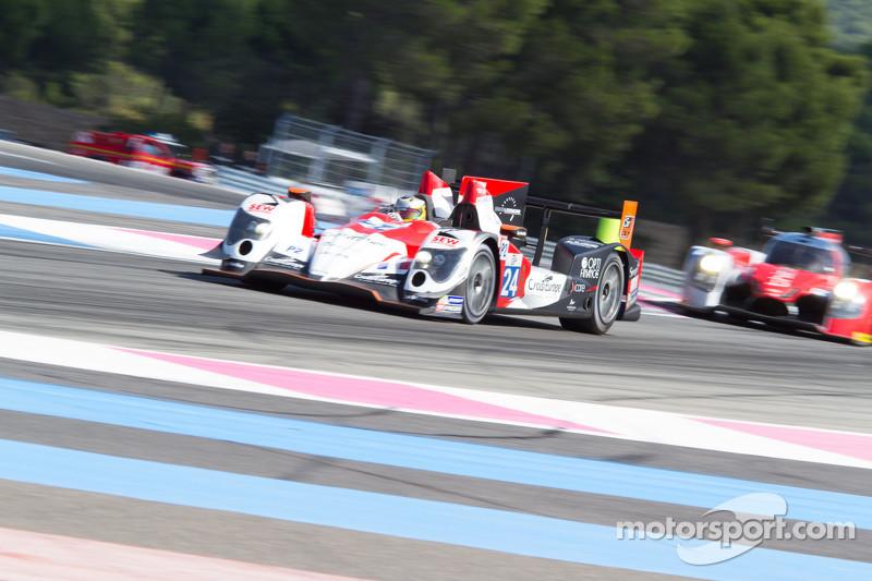 #24 塞巴斯蒂安·勒布 Racing Oreca 03 日产: 安德里亚·洛达, 亚瑟·皮克, 维森特·卡皮莱尔
