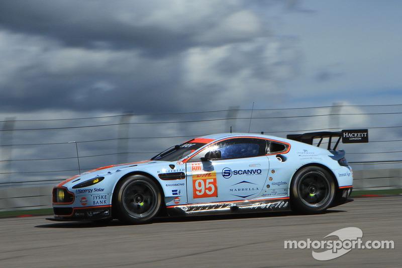 #95 Aston Martin Racing Aston Martin Vantage V8: Kristian Poulsen, David Heinemeier Hansson, Richie Stanaway