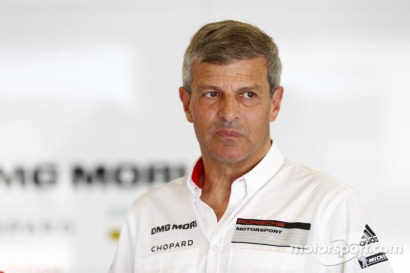 Fritz Enzinger, Porsche LMP1 program