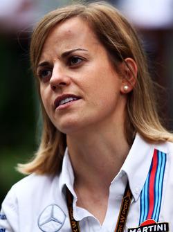 Susie Wolff, Williams, Entwicklunsfahrerin