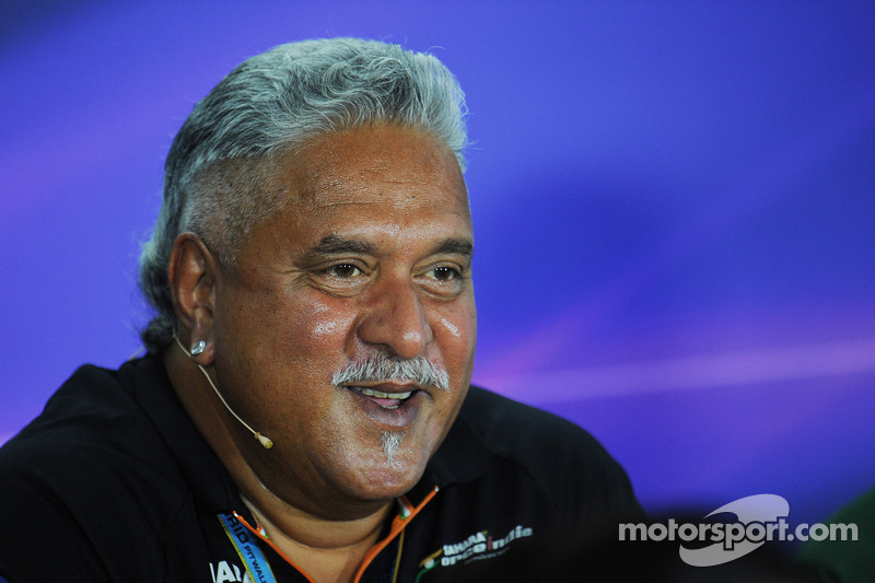 Dr. Vijay Malya, Force India F1, Teambesitzer