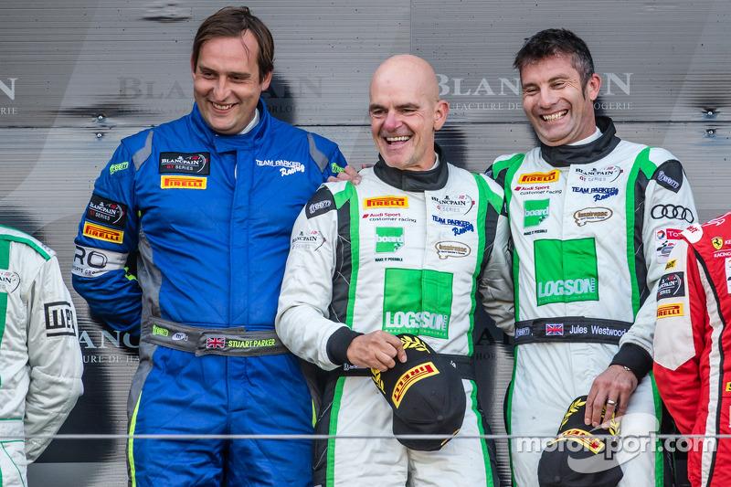Gentleman Trophy podio: vincitori di classe Ian Loggie, Julian Westwood