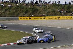 Joey Hand, BMW Team RBM BMW M4 DTM, Gary Paffett, Mercedes AMG DTM-Team HWA DTM Mercedes AMG C-Coupe