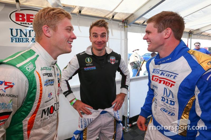 Spencer Pigot, Jay Howard e Conor Daly