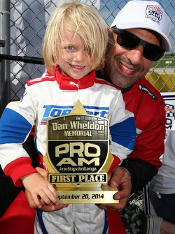 Sebastian Wheldon and Tony Kanaan