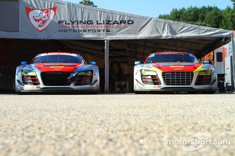 Il garage Flying Lizard Motorsports