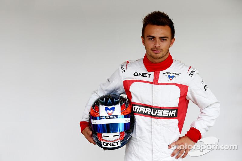 Will Stevens, Marussia F1 Team, terzo pilota