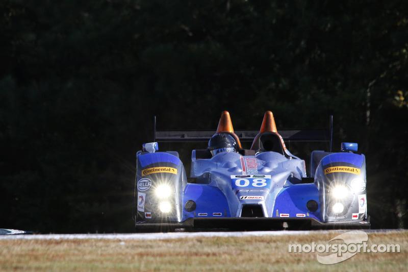 #08 RSR Racing Oreca FLM09 Chevrolet: Chris Cumming, Jack Hawksworth, Rusty Mitchell