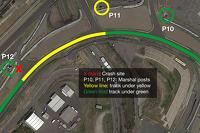 朱尔斯·比安奇和阿德里安·苏蒂尔撞车现场示意图