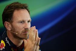 FIA-Presekonferenz: Christian Horner, Teamchef Red Bull Racing