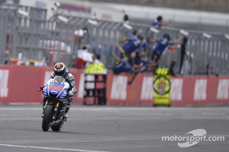 2014 winner Jorge Lorenzo, Yamaha Factory Racing