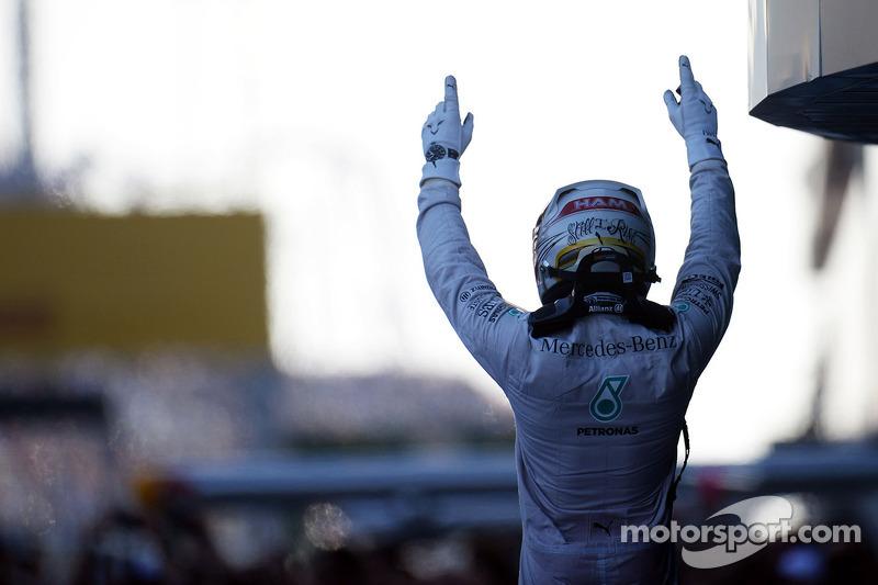 Lewis Hamilton, Mercedes AMG F1 en Rusia 2014