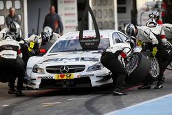 Boxenstopp, Paul Di Resta, Mercedes AMG DTM-Team HWA, DTM Mercedes AMG C-Coupe