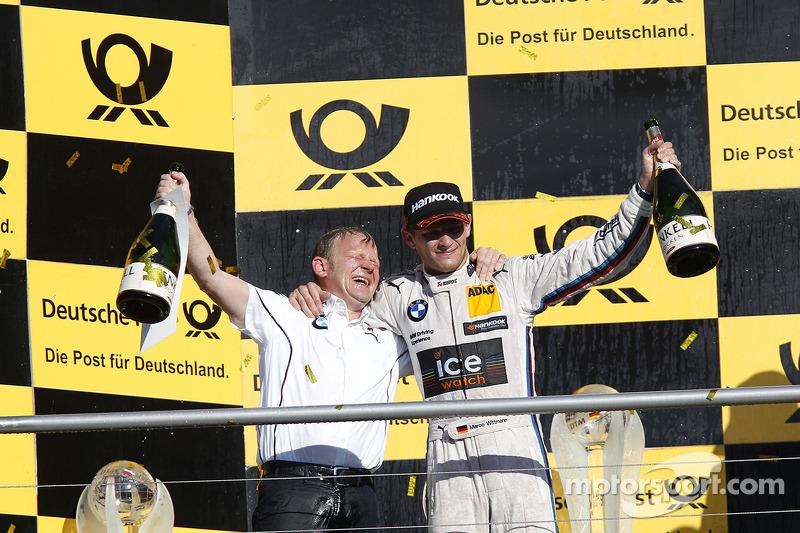 Şampiyona Podyumu, Stefan Reinhold , BMW RMG Takımı ve Marco Wittmann, BMW RMG Takımı BMW M4 DTM