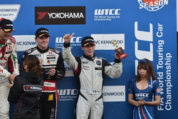 Gabriele Tarquini, Dusan Borkovic, and Norbert Michelisz