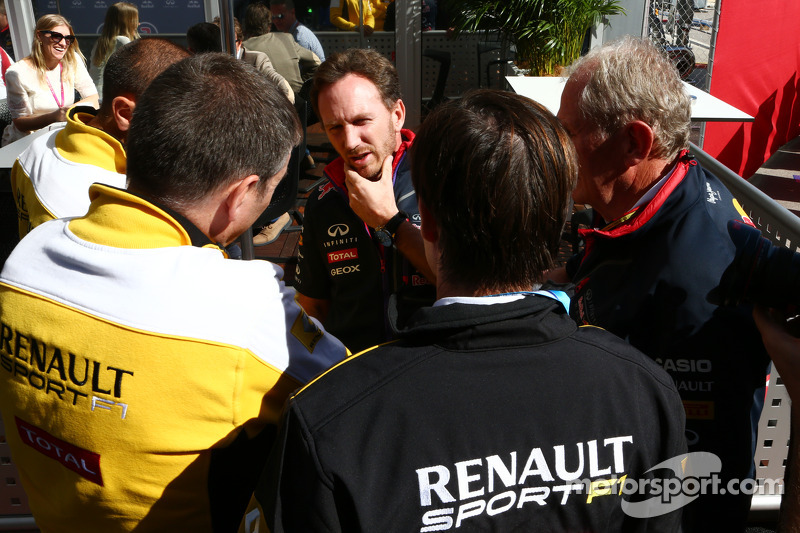 Christian Horner, director del Red Bull Racing Team