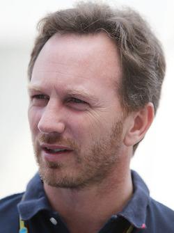 Christian Horner, director del Red Bull Racing Team