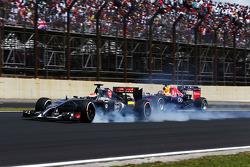 Adrian Sutil, Sauber C33 blocca i freni