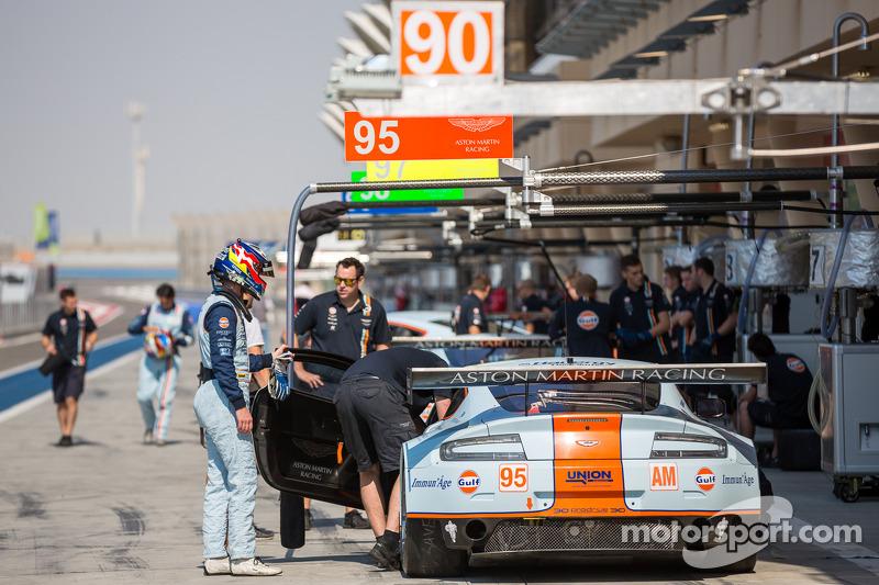 #95 Aston Martin Racing Aston Martin Vantage V8: Kristian Poulsen, David Heinemeier Hansson, Nicki Thiim