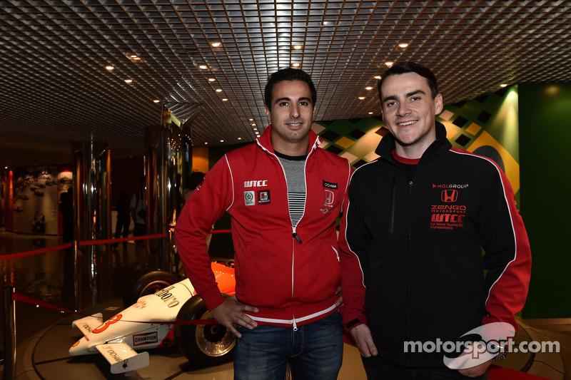 Mehdi Bennani, Honda Civic WTCC, Zengo Motorsport