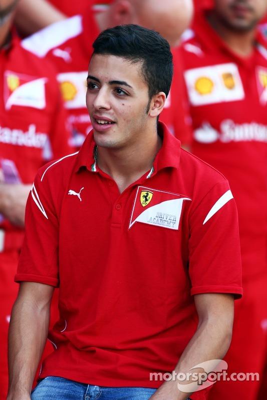Antonio Fuoco, Ferrari Driver Academy