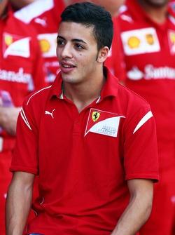 Antonio Fuoco, Ferrari, Nachwuchsfahrerprogramm