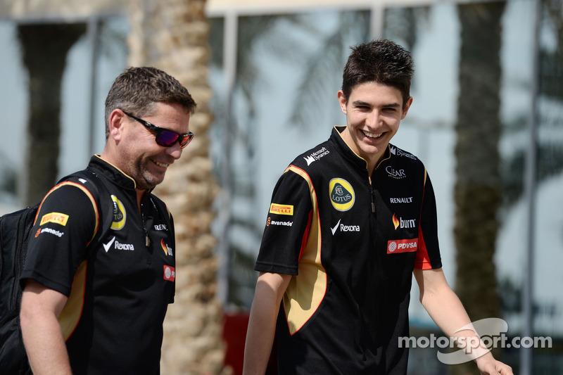 Esteban Ocon, Lotus F1 Team Test Driver