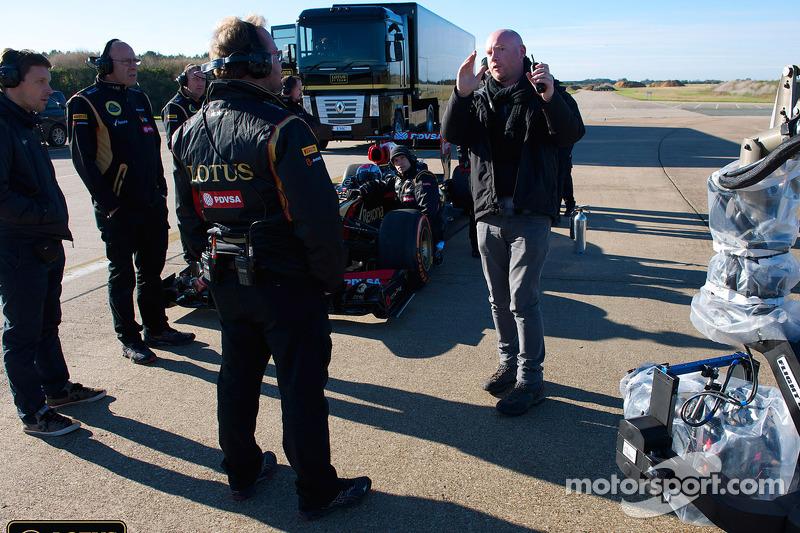 Lotus F1 Team se prepara para la acción