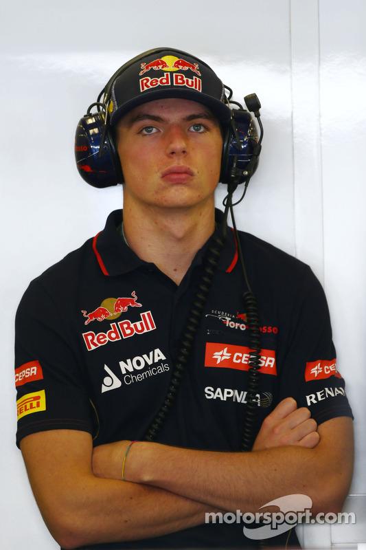 Max Verstappen, Scuderia Toro Rosso Test Driver