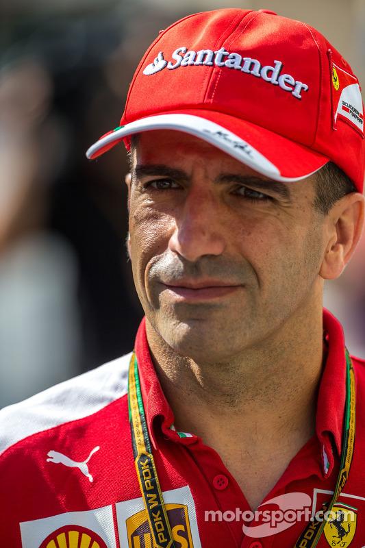 Marc Gene, piloto de testes da Ferrari